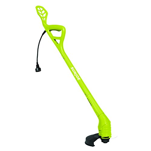 Sun Joe 10-Inch 2.5 Amp Electric String Trimmer, 10 inches, Green