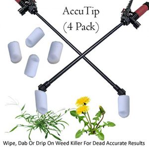 Keyfit Tools AccuTip Weed Killer (4 Pack) Fits On Lawn/Garden Pump Up Sprayer