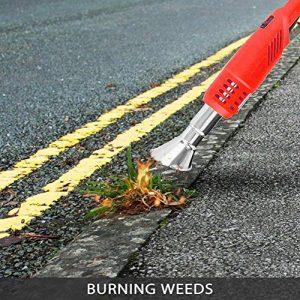 Weed Burner 2000W Electric Lawnmower Weeder Power Tool Electric Weed Burner