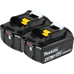Makita 18V LXT Lithium-Ion 4.0Ah Battery Twin Pack