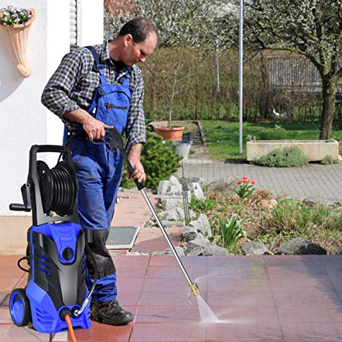 Goplus 3000PSI Electric Pressure Washer, Portable High Power Washer