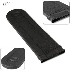 Universal 12 inch Chainsaw Bar Cover Scabbard Protector Guide Plate Set