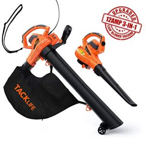 TACKLIFE Leaf Blower/Vacuum/Mulcher