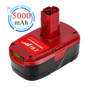 19.2 Volt 5.0Ah Lithium ion Battery Replacement for Craftsman DieHard