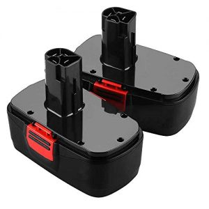 2Pack 19.2 Volt 3.6Ah Battery for Craftsman C3 DieHard Ni-MH Replacement