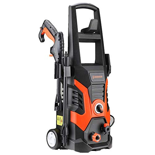 Homestock Electric Power Washer 1900 PSI 13 AMP 1.5GPM Power Pressure Washer