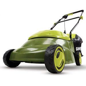 Sun Joe Mow Joe 14-Inch 12 Amp Electric Lawn Mower With Grass Bag