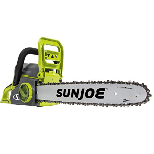 Sun Joe 40-Volt Cordless 16-Inch Chain Saw w/Brushless Motor
