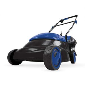 Sun Joe Electric Lawn Mower | 14 inch | 12 Amp (Blue) (Renewed)