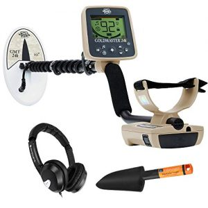 Whites Goldmaster 24k Metal Detector with 6 x 10 DD Waterproof Search Coil
