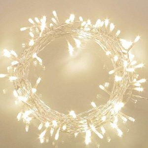 Koopower 36ft 100 LED Battery Operated String Lights with Timer on 11M Outdoor