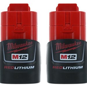 Milwaukee (2-pack) M12 RED Li-Ion Battery Packs