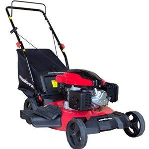 "PowerSmart 3-in-1 159cc Gas Push Mower, 21"", Red, Black"