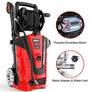 iRozce Pressure Washers, 3045PSI 2.2GPM Max Electric Power Washer