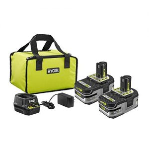 RYOBI 18V ONE+ LITHIUM+ HP 3.0 Ah Battery 2-Pack Starter Kit