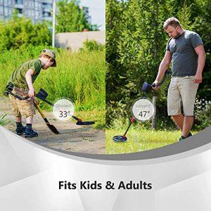 Avid Power Metal Detector for Adults Kids, Waterproof Metal Detectors