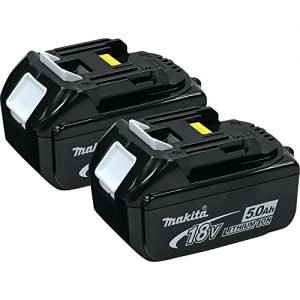 Makita 18-volt LXT Lithium-Ion 5.0Ah Battery, 2-Pack- Discontinued by Manufacturer