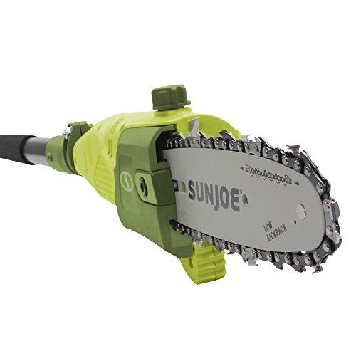 Sun Joe 8-Inch 7-Amp Electric Telescoping Pole Chain Saw