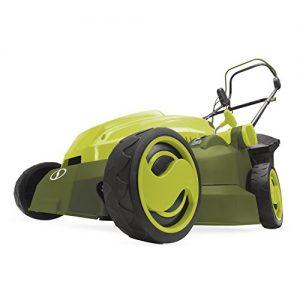 Mow Joe 16-Inch 12-Amp Electric Lawn Mower + Mulcher