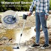 URCERI Metal Detector Waterproof Gold Finder Ultimate Treasure Hunter