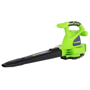 Greenworks 12A 235MPH Variable Speed Corded Blower/Vac