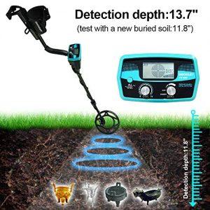 allsun Pro Underwater Metal Detector Underground Waterproof Gold Finder