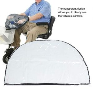 Yencoly Lawn Mower Cover,Foldable Mobility Scooter Control Panel Tiller Rain