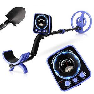 INTEY Metal Detector Waterproof for Adults Kids Adjustable