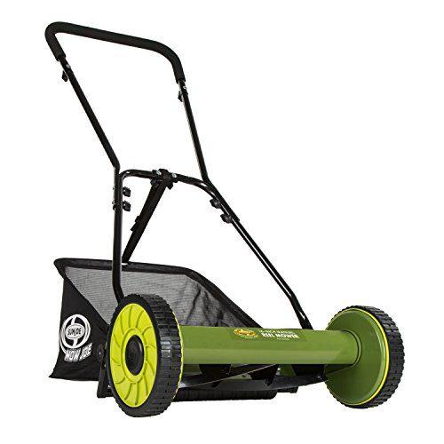 Snow Joe 16 inch Manual Reel Mower w/Grass Catcher