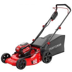 CRAFTSMAN V60 3-in-1 Cordless Lawn Mower, 21-Inch