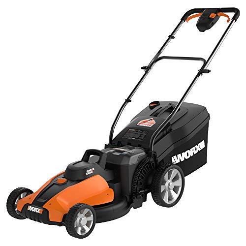 """WORX WG744 40V Power Share 4.0 Ah 17"""" Lawn Mower w/ Mulching"""