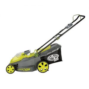 Sun Joe iON16LM 40-Volt 16-Inch Brushless Cordless Lawn Mower, Kit