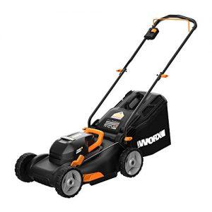 "Worx 40V PowerShare 4.0Ah 17"" Lawn Mower w/ Mulching &amp"