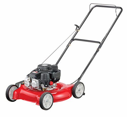 Yard Machines 132cc 20-Inch Push Gas Lawn Mower - Mower for Small to Medium