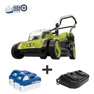 Sun Joe Mulching Lawn Mower w/Grass Catcher, Kit