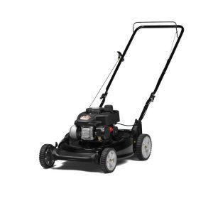 Yard Machines 140cc OHV 21-Inch 2-in-1 Push Walk-Behind Gas Powered Lawn