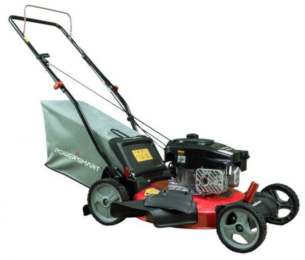 powersmart-db2321pr-gas-powered-170cc-engine-push-lawn-mower-with-bag-db2321pr