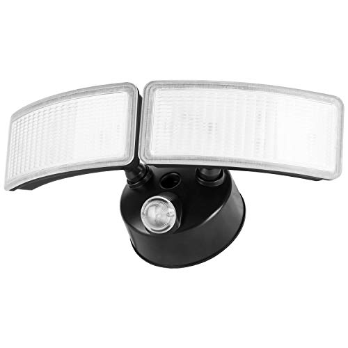 28W Amico Dusk to Dawn LED Outdoor Lighting 5000K 2500lm LED Security Lights IP65 Waterproof Flood Lights