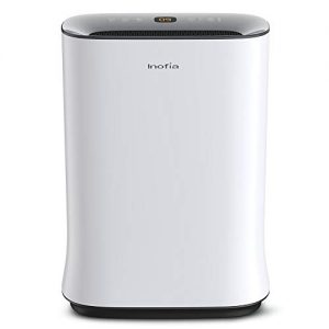 Inofia Air Purifier with True HEPA Air Filter, Air Cleaner for Large Room, for Spaces Up to 800 Sq Ft, Perfect for Home/Office with Filter - 2 Year Warranty