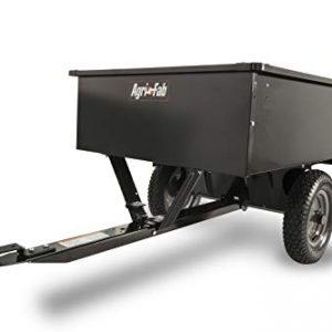 Agri-Fab 750-Pound Max Utility Tow Behind Dump Cart, Black