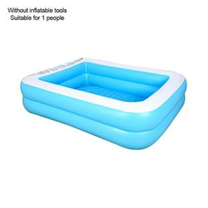 Swimming Pool Oversize 1-7 Peoples PVC Thickened Abrasion Resistant Inflatable Pool Family Interaction Summer Water Party Swimming Pool for Kids Adults Swimming Pools for Garden,Backyard, Outdoor