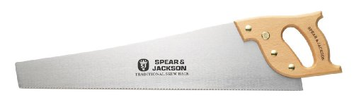 Spear & Jackson 9500R Back Saw, Brown and Silver