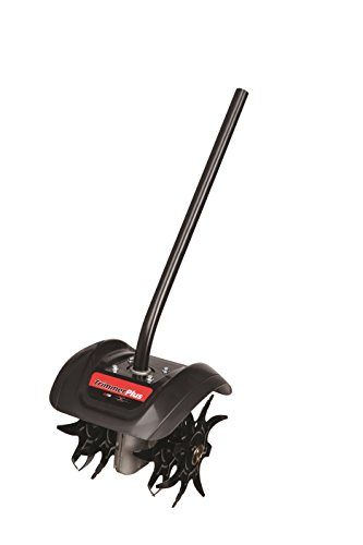 TrimmerPlus GC720 Garden Cultivator Attachment with Four Premium Tines for Attachment Capable String Trimmers, Polesaws, and Powerheads