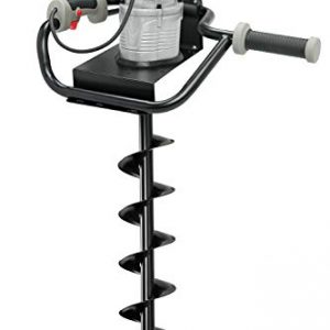"Hiltex 10525 Electric Earth Auger with 4"" Bit 1, 200W and 1.6 hp Powerhead"