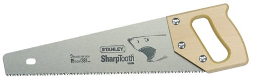 Stanley 15-334 15-Inch Blade Length x 9 Points Per Inch SharpTooth Saw