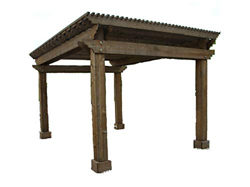WoodPatternExpert PERGOLA Arbor Paper Plans SO Easy Beginners Look Like Experts Build Your Own Large Windsor Shade SHELTER Using This Step by Step DIY Patterns