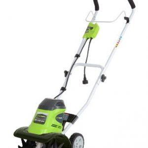 Greenworks 10-Inch 8 Amp Corded Tiller 27072