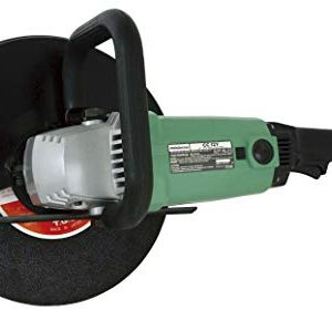 "Metabo HPT Cut-Off Saw, 12"" Metal Cutting Wheel, Electric, 15-Amp Motor, AC/DC, Portable (CC12Y)"