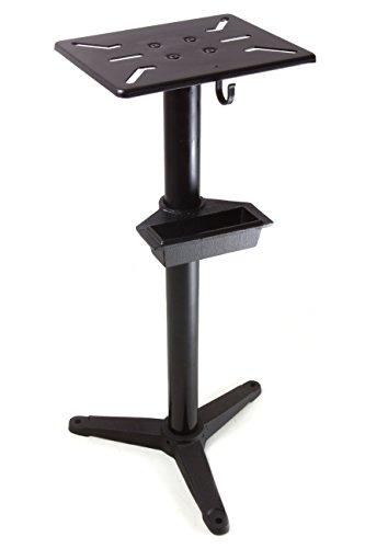 WEN 4288 Cast Iron Bench Grinder Pedestal Stand with Water Pot