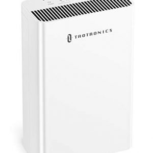 TaoTronics HEPA Air Purifiers for Home, Allergies Smoke Pollen Pets, Home Air Cleaner Filtration System, Odors Dust, Sleep Mode Timer Auto Mode Negative Ion Mode, Air Quality Indicator